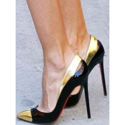 Black High Heels Women Dress Shoes Pointed Toe Stiletto Heel Pumps on clearance #23600812176