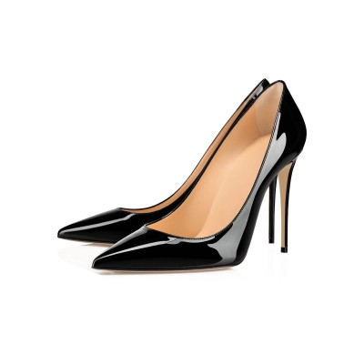 Black High Heels Women Pointed Toe Stiletto Heel Pumps Dress Shoes Fitted #23600917868