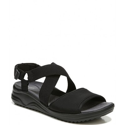 Women All In Cross Band Washable Wedge Sandals Bzees on sale near me RSHBSIU