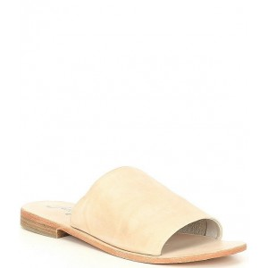 Women Vicente Leather Slide Sandals Free People OMNEGSC