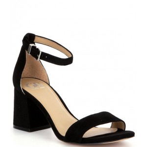 Women Block-Party Suede Two-Piece Sandals GB Express IATRMCO