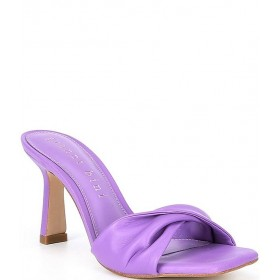 Women Emberie Leather Twisted Band Dress Mules Gianni Bini shop online CLNNAEH