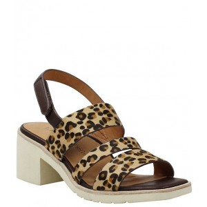 Women Quennell Leopard Print Calf Hair Strappy Sandals L'Amour Des Pieds on sale near me XDADUOU