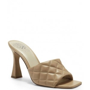 Women Reselm Quilted Leather Square Toe Mules Vince Camuto spring 2021 CWPRMWY