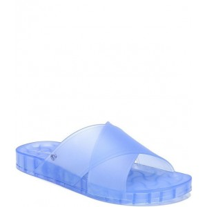 Women Circus by Sam Edelman Jaylee Criss Cross Banded Jelly Pool Slides Sam Edelman for sale near me CTVZZQF