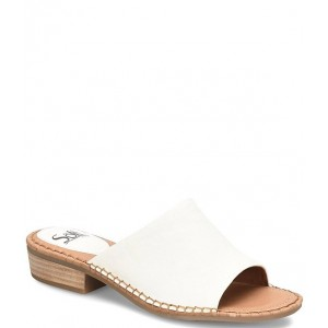 Women Nalanie Leather Slides Sofft guide HNASMLY