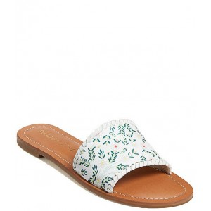 Women Sofia Daisy Print Leather Slides Jack Rogers At Target TPOUVOV
