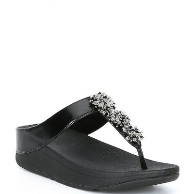 Women Galaxy Toe-Thongs Post Sandals FitFlop Designer WSUHNUH