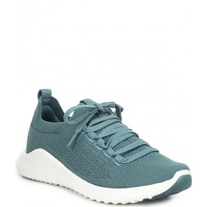 Women Carly Knit Lace-Up Sneakers Aetrex Fit PQMRNSU
