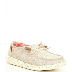 Women Women's Wendy Washable Chambray Slip-Ons Hey Dude stores PJFRQPS